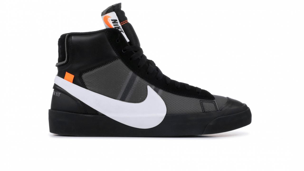 Nike Blazer x Off White (Black) – Kerimago c2dbda85d
